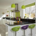 Tủ bếp gỗ Acrylic   TVB1219