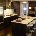 Nội thất Tủ Bếp   Tủ bếp gỗ công nghiệp – TVN385