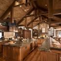 Tủ bếp gỗ tự nhiên – TVN598