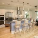 Tủ bếp gỗ công nghiệp – TVN576