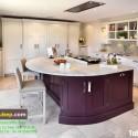 Tủ bếp gỗ tự nhiên – TVN972