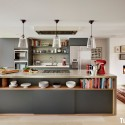 Tủ bếp gỗ công nghiệp – TVN740