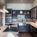 Tủ bếp gỗ công nghiệp – TVN548