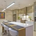 Tủ bếp gỗ Laminate chữ I   TVB0923