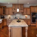 Tủ bếp gỗ tự nhiên – TVN485