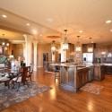 Nội thất Tủ Bếp   Tủ bếp gỗ tự nhiên – TVN469
