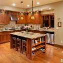 Nội thất Tủ Bếp   Tủ bếp gỗ tự nhiên – TVN461