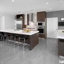 Tủ bếp gỗ công nghiệp – TVN498
