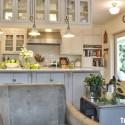 Nội thất Tủ Bếp   Tủ bếp gỗ tự nhiên – TVN452