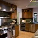 Tủ bếp gỗ tự nhiên  công nghiệp – TVN994