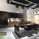 Tủ bếp gỗ công nghiệp – TVN1002