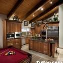 Tủ bếp gỗ tự nhiên – TVN1427