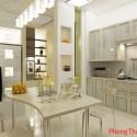 Tạo điều kiện cho khí lưu thông trong phòng bếp