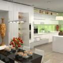 Tủ bếp gỗ tự nhiên – TVN1113