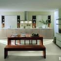 Tủ bếp gỗ MDF Laminate – TVB434