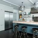Nội thất Tủ Bếp   Tủ bếp gỗ tự nhiên – TVN413