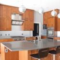 Tủ bếp gỗ tự nhiên Tần Bì – TVB317