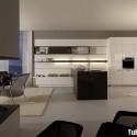 Tủ bếp gỗ công nghiệp – TVN897