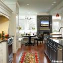 Nội thất Tủ Bếp   Tủ bếp gỗ tự nhiên – TVN424