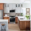 Nội thất Tủ Bếp   Tủ bếp gỗ tự nhiên – TVN443