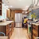 Tủ bếp gỗ tự nhiên – TVN1399