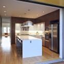 Tủ bếp Laminate màu vân gỗ chữ L   TVB 1209
