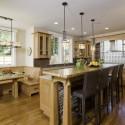 Tủ bếp gỗ tự nhiên – TVN937