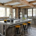 Tủ bếp gỗ tự nhiên – TVN486