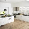 Tủ bếp Laminate có đảo   TVB802
