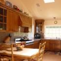 Tủ bếp gỗ xoan đào   TVB0867