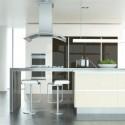 Tủ bếp gỗ công nghiệp – TVN1414