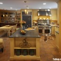 Tủ bếp gỗ công nghiệp – TVN644