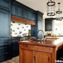 Tủ bếp gỗ tự nhiên – TVN1081