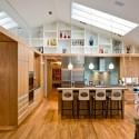 Tủ bếp gỗ công nghiệp – TVN530