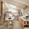 Tủ bếp gỗ công nghiệp – TVN934