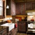 Tủ bếp gỗ tự nhiên – TVN580
