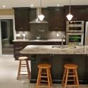Tủ bếp gỗ tự nhiên – TVN1055