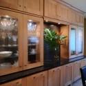 Tủ bếp gỗ Sồi Nga – TVB265