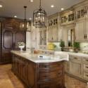 Nội thất Tủ Bếp   Tủ bếp gỗ tự nhiên – TVN445