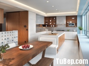 10ed50a27500x225.jpg Tủ bếp gỗ Laminate hình chữ L màu vân gỗ phối trắng TVT0783