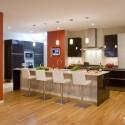 Tủ bếp gỗ công nghiệp – TVN819