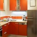 Tủ bếp gỗ MDF Acrylic – TVB395
