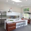 Tủ bếp Acrylic có đảo   TVB788