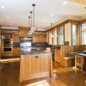 Tủ bếp gỗ Sồi Nga – TVB525