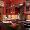 Nội thất Tủ Bếp   Tủ bếp gỗ tự nhiên– TVN311