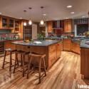 Tủ bếp gỗ tự nhiên – TVN1389