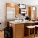 Nội thất Tủ Bếp   Tủ bếp gỗ công nghiệp – TVN436