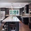 Nội thất Tủ Bếp   Tủ bếp gỗ tự nhiên – TVN391