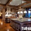 Tủ bếp gỗ tự nhiên  – TVN1420