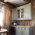 Nội thất Tủ Bếp   Tủ bếp gỗ tự nhiên – TVN437